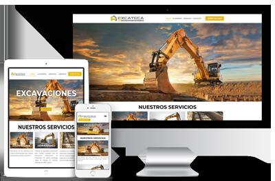 web empresa de excavaciones