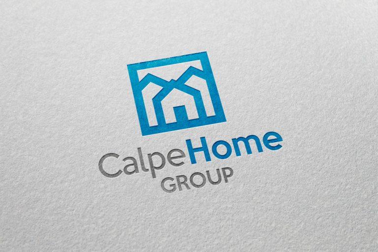 diseño logotipo inmobiliaria calpe