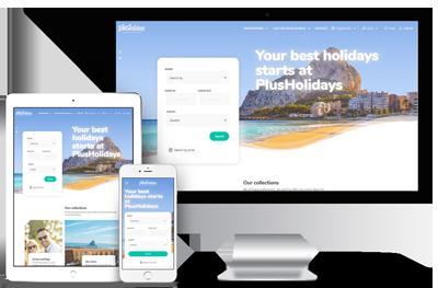 web alquiler turístico
